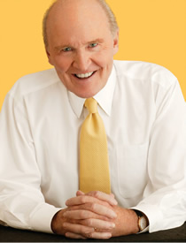 Jack Welch, corporate spokesperson for GE